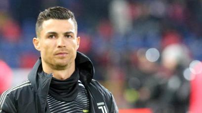 Cristiano Ronaldo volvió a Italia y se alista para entrenar con la Juventus