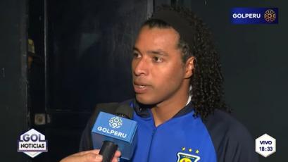 """Jonathan Acasiete: """"Los goles fueron más errores nuestros que virtudes de ellos"""""""