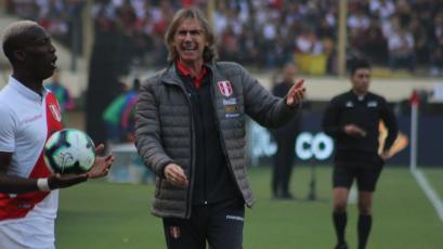 """Ricardo Gareca: """"Vamos a llegar bien a la Copa América más allá de este resultado"""""""