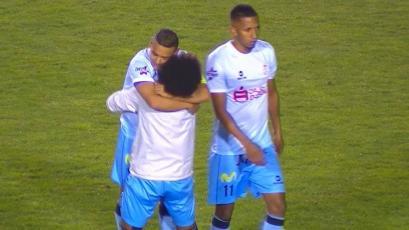 Real Garcilaso venció a Binacional con un gran gol de Alfredo Ramúa