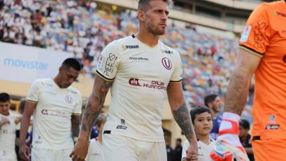 Universitario de Deportes: Germán Denis se perdería el partido ante Cantolao