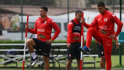 """Ángel Zamudio: """"Tenemos una linda oportunidad para demostrar de qué está hecha esta Sub-23"""""""