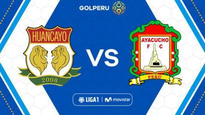 Liga1 Movistar: Sport Huancayo buscará su primera alegría ante Ayacucho FC