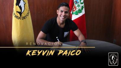 Academia Cantolao: Keyvin Paico renueva por todo el 2018