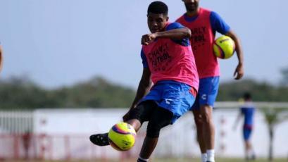 Wilder Cartagena se sumó a los entrenamientos de Veracruz