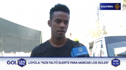 """Nilson Loyola: """"Debemos corregir muchos errores de cara a la Copa América"""""""