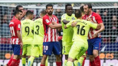 Atlético de Madrid gana de la mano de Diego Costa