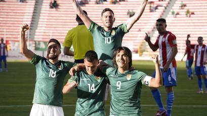Eliminatorias Sudamericanas: Bolivia goleó 4-0 a Paraguay en el inicio de la fecha 12