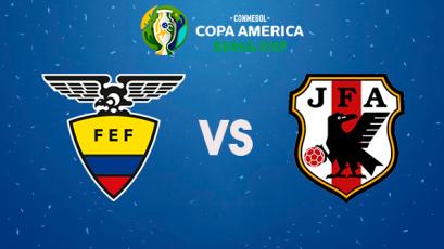 Copa América Brasil 2019: Ecuador se juega su última chance ante Japón