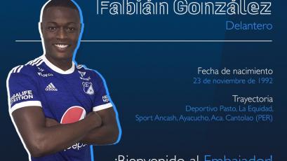 Cantolao se despidió de Fabián González tras su fichaje por Millonarios