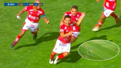 Liga2: Cienciano y el increíble golazo a Santos FC que lo deja a un paso de la Liga1 Movistar