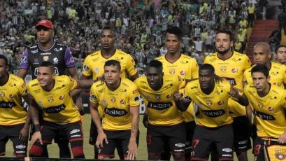 Barcelona de Ecuador llegó a Lima para 'Noche Blanquiazul'