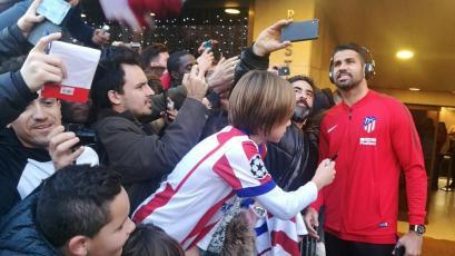 Diego Costa en lista para volver a debutar con el Atlético de Madrid