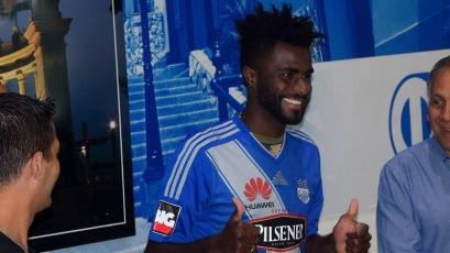 Christian Ramos partió a Argentina para unirse a Gimnasia y Esgrima de la Plata