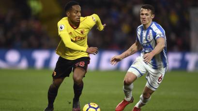 Con André Carrillo: Watford visita al Manchester City