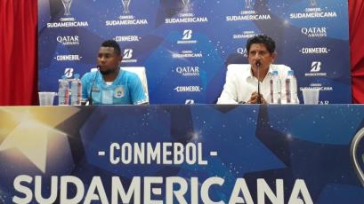 """Javier Arce: """"No pudimos jugar al ritmo de Independiente"""""""