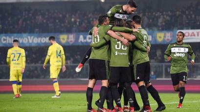 Serie A: Juventus alcanzó el primer lugar del calcio italiano