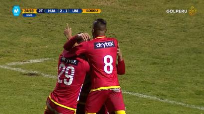 Sport Huancayo venció a Universitario en un partido repleto de golazos