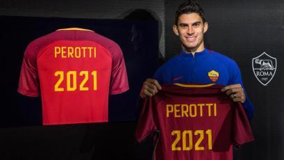 Diego Perotti renueva con la Roma hasta el 2021