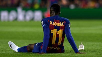Barcelona: Ousmane Dembélé pasa por el quirófano y se despide de la temporada