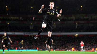 Manchester City vuelve a sonreír en la Premier League tras golear al Arsenal