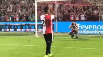 Renato Tapia: el emotivo reencuentro del peruano con los hinchas del Feyenoord (VIDEO)