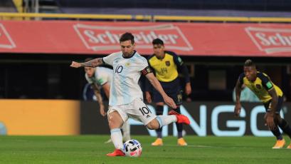 Clasificatorias Sudamericanas: Argentina superó 1-0 a Ecuador con un gol de Lionel Messi