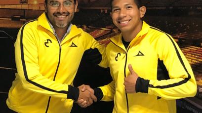 OFICIAL: Edison Flores firmó como refuerzo del Monarcas Morelia