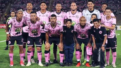 Sport Boys igualó ante Peñarol en el estadio San Marcos por la 'Noche Rosada'