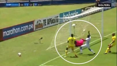 Liga1 Betsson: el increíble doble fallo de Carlos Stein frente al arco de Alianza Atlético (VIDEO)