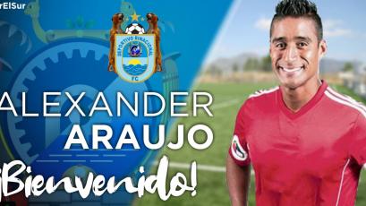 Alexander Araujo es nuevo arquero de Deportivo Binacional