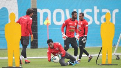 Selección Peruana entrenó por quinto día en La Videna (FOTOS)