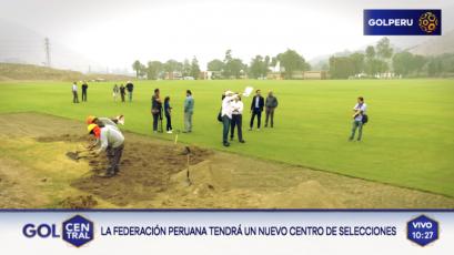 Federación Peruana de Fútbol: Así avanza el centro de selecciones de Chaclacayo