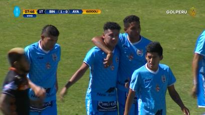 Edson Aubert le da el triunfo a Binacional sobre Ayacucho FC