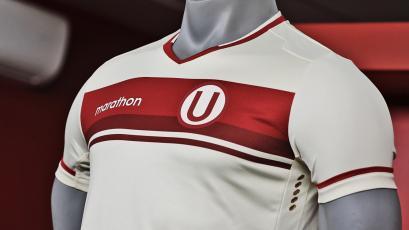 Universitario de Deportes presentó su nueva camiseta para la temporada 2021
