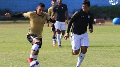 Alianza Lima jugó amistoso contra Deportivo Municipal