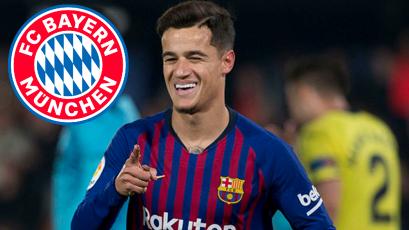 Philippe Coutinho estaría a un paso del Bayern Múnich