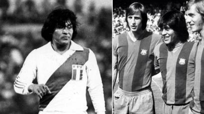 Hugo Sotil, el día que se escapó del Barcelona para ganar la Copa América de 1975