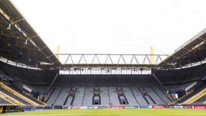 Borussia Dortmund convierte su estadio en un hospital para recibir pacientes con coronavirus