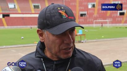 """Hernán Torres: """"Cada partido de Melgar será un reto"""""""