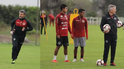 Universitario de Deportes: Diego Ripacolli y Nelson Pumpido se integraron al comando técnico
