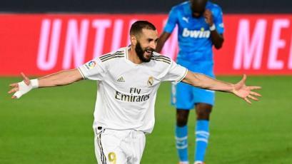 Real Madrid: Karim Benzema superó a Ferenc Puskás y ya es el quinto máximo goleador blanco