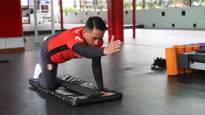 Selección Peruana: Christian Cueva inició trabajos en La Videna pensando en las Eliminatorias