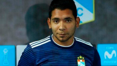 Cristian Palacios sería baja ante Alianza Lima