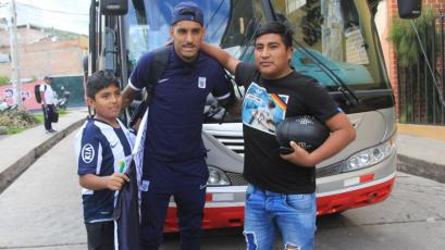 Liga1 Movistar: Alianza Lima llegó a Ayacucho pensando en el partido de mañana (FOTOS)