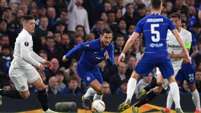 Europa League: Chelsea superó al Eintracht Frankfurt y jugará la final con el Arsenal