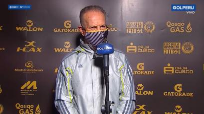 """Carlos Ramacciotti: """"Es una gran satisfacción haberle ganado a un equipazo"""" (VIDEO)"""