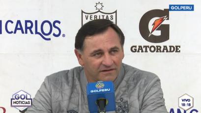 """Carlos Bustos sobre Real Garcilaso: """"Le ganamos a un rival importante"""