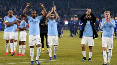 Champions League: Manchester City sacó ventaja sobre Schalke 04