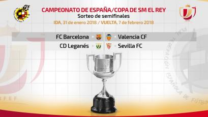 Copa del Rey: así quedan los emparejamientos de semifinales